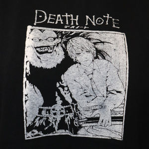 Death Note Anime Manga Ryuk Shirt M Japanese